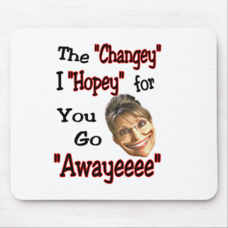 just go away! mouse pad