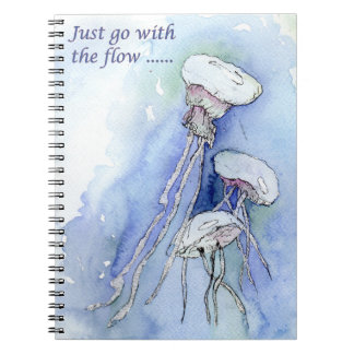 Just go with the flow (a435) notebook