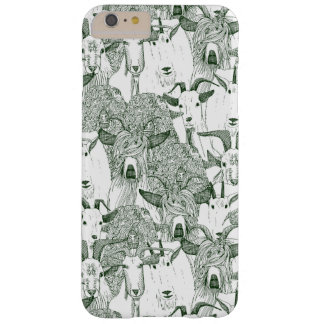 just goats dark green barely there iPhone 6 plus case