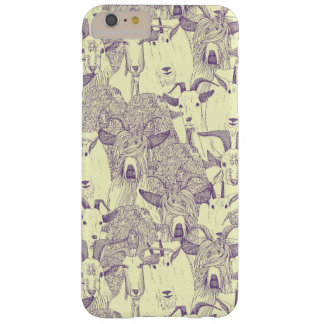 just goats purple cream barely there iPhone 6 plus case