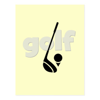 Just Golf Tshirts and Gifts Postcard