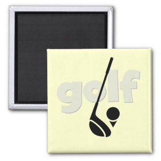 Just Golf Tshirts and Gifts Square Magnet