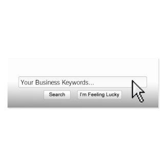 Just Google Me! mini Business Card