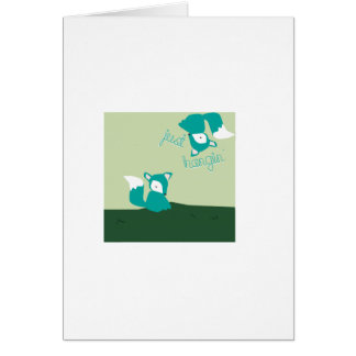 Just Hangin Greeting Cards