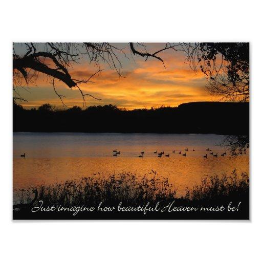 Just Imagine How Beautiful Heaven Must Be! Photo