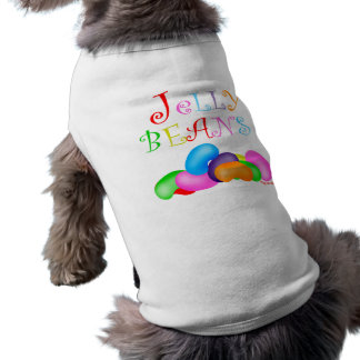 Just Jelly Beans Sleeveless Dog Shirt