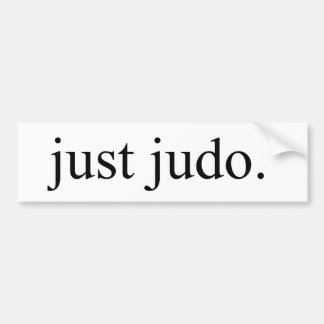 Just Judo Bumper Sticker