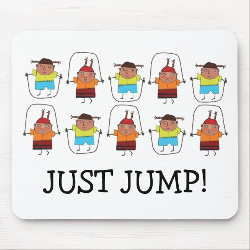 Just jump mouse pad