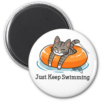 Just Keep Swimming Skooter Magnet