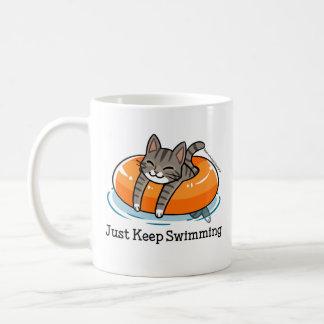 Just Keep Swimming Skooter Mug
