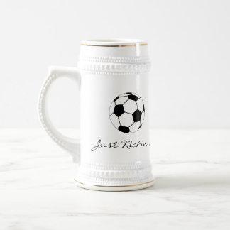 Just Kickin' It Stein Coffee Mugs