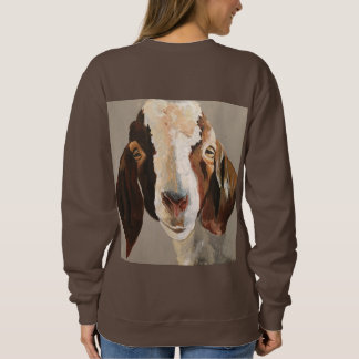Just kidding Goat Sweatshirt
