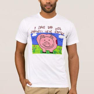 Just Kids at Heart - Pig (1d) - Down & Dirty T-Shirt