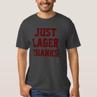 JUST LAGER THANKS!/Burgundy Shirt