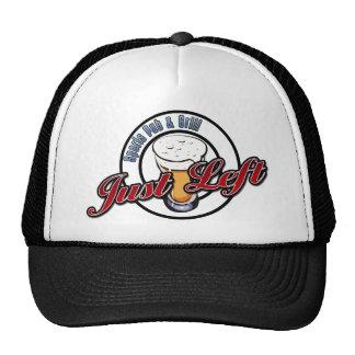 Just Left Pub Ball Cap Trucker Hat