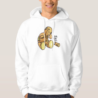 Just Let Go Graffiti Character Hoodie