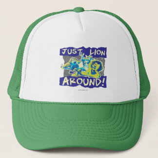 Just Lion Around Trucker Hat