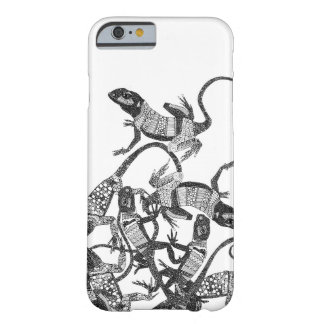 just lizards black white barely there iPhone 6 case