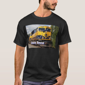 Just loco: Alaska locomotive, USA T-Shirt