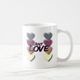 Just Love Basic White Mug