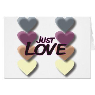 Just Love Card