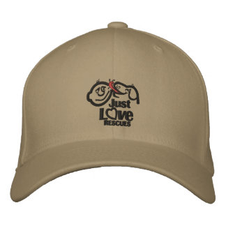 Just Love Rescue Dog Baseball Cap