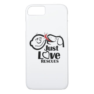 Just Love Rescues Dog iPhone 7 Case-Mate Case