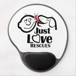 Just Love Rescues Dog Mouse Pad Gel Mouse Pad