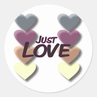 Just Love Sticker