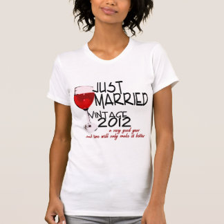 Just Married 2012 Tee Shirt
