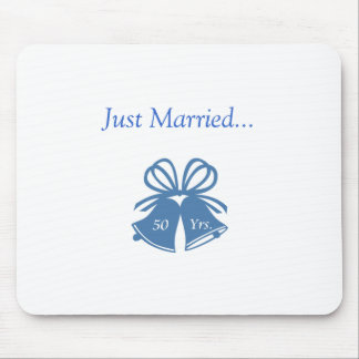 Just Married 50 Yrs Mousepads