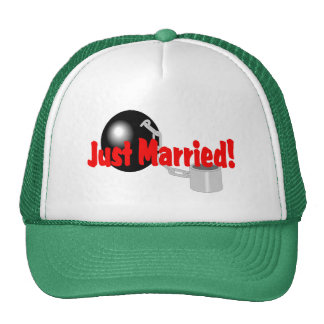 Just Married (Ball and Chain) Trucker Hat