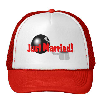 Just Married (Ball and Chain) Hats