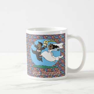 Just Married BB BG Coffee Mug