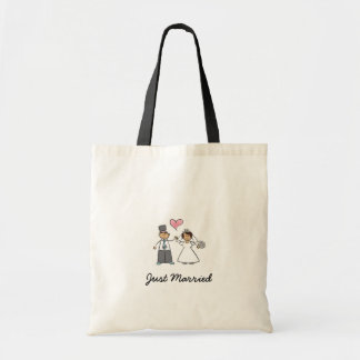 Just Married Budget Tote