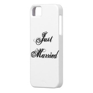 Just Married Case For The iPhone 5