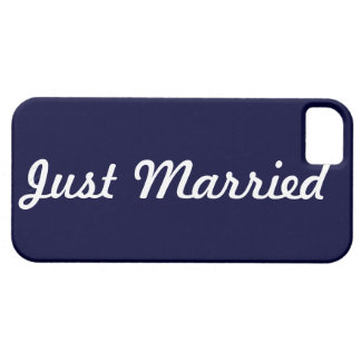 Just Married Cell Phone Case Groom iPhone 5 Covers