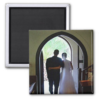 Just Married Couple Magnets