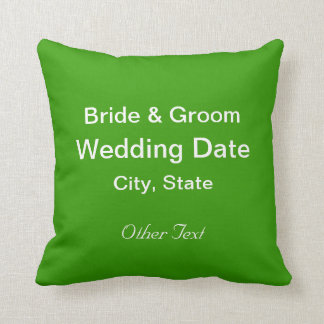 Just Married Cushions