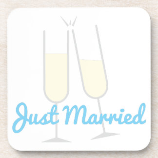 Just Married Drink Coasters