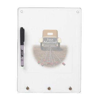 Just Married Dry Erase Board