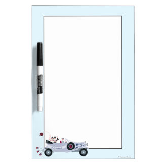 Just Married Dry-Erase Whiteboards