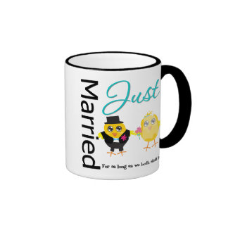 Just Married For As Long As We Both Shall Live Coffee Mug