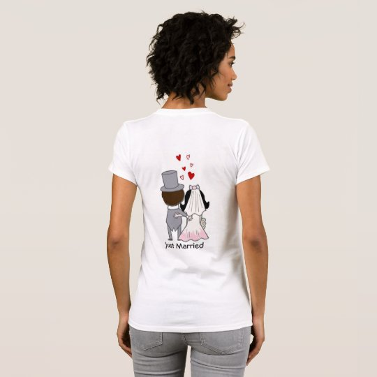 Just Married, for Bride T-Shirt