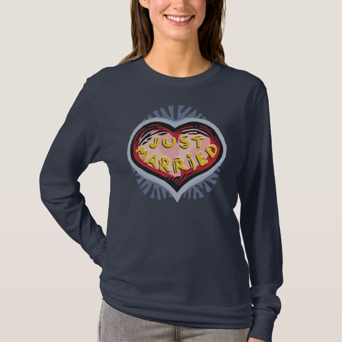 Just Married Fun Brides T-Shirt