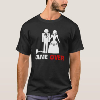 Just Married - GAME OVER T-Shirt