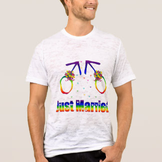Just Married Gay Men T-Shirt