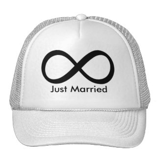 Just Married Mesh Hats