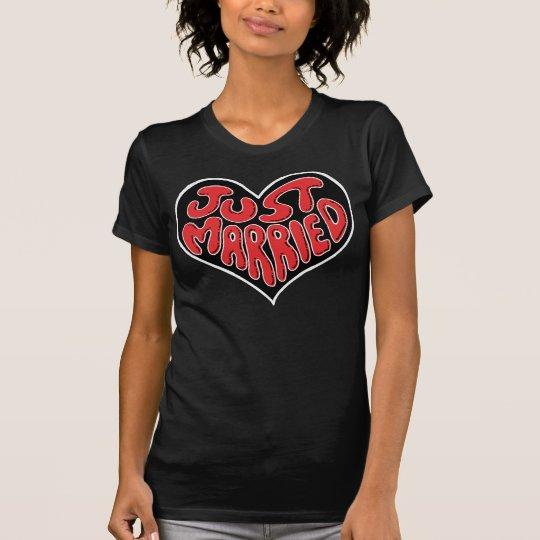 Just Married Heart T-Shirt