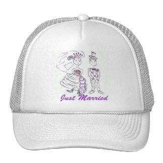 Just Married/Honeymoon Cap